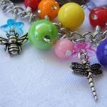 The Birds & The Bees Charm Bracelet