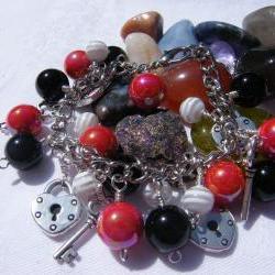 Key to My Heart Charm Bracelet